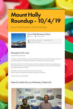 Mount Holly Roundup - 10/4/19