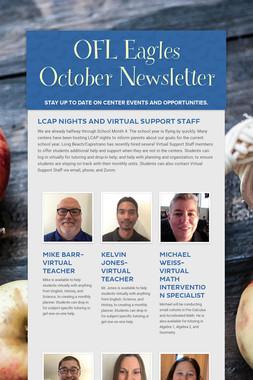 OFL Eagles October Newsletter