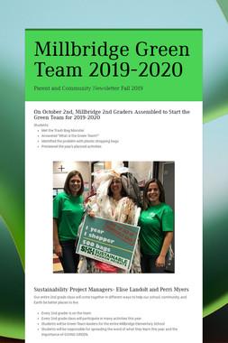 Millbridge Green Team 2019-2020