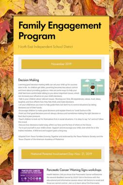 Family Engagement Program