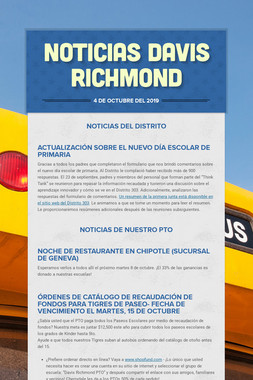 Noticias Davis Richmond