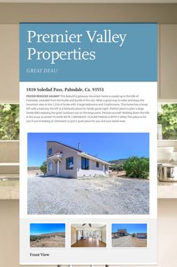 Premier Valley Properties