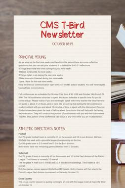 CMS T-Bird Newsletter