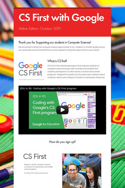 CS First with Google