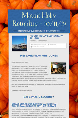 Mount Holly Roundup - 10/11/19