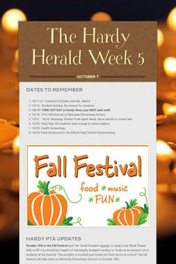 The Hardy Herald Week 5