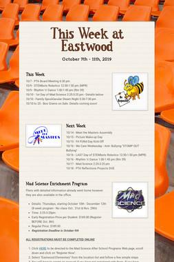 This Week at Eastwood