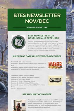 BTES Newsletter Nov/Dec