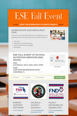 ESE Fall Event