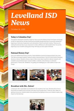 Levelland ISD News