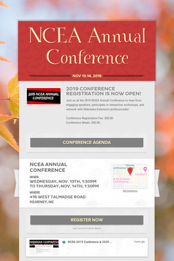 NCEA Annual Conference