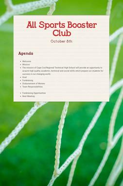 All Sports Booster Club