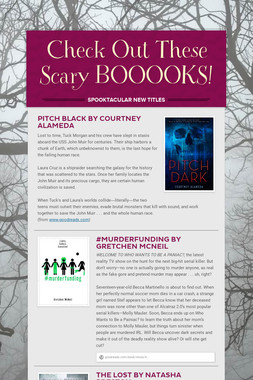 Check Out These Scary BOOOOKS!