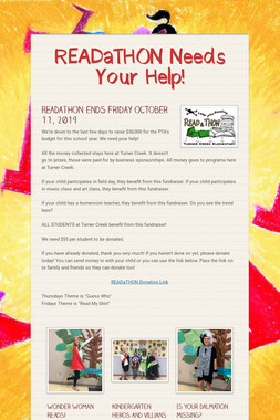 READaTHON Needs Your Help!