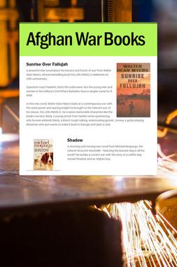 Afghan War Books