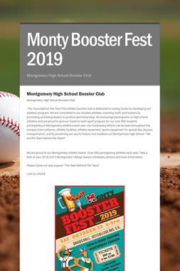 Monty Booster Fest 2019