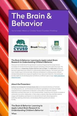 The Brain & Behavior