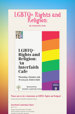 LGBTQ+ Rights and Religion: