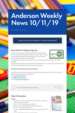 Anderson Weekly News 10/11/19