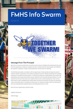 FMHS Info Swarm