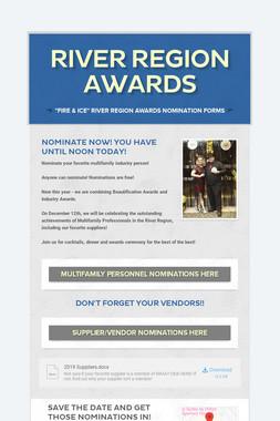 River Region Awards