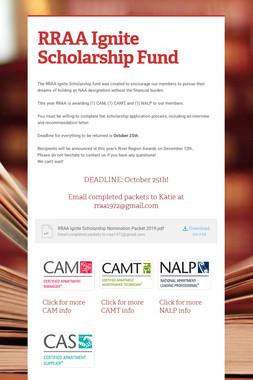 RRAA Ignite Scholarship Fund