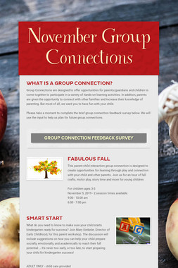 November Group Connections