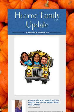 Hearne Family Update