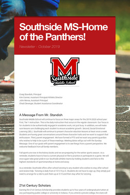 Southside MS-Home of the Panthers!