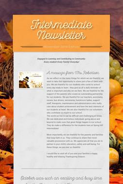 Intermediate Newsletter