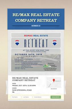 RE/MAX Real Estate Company Retreat