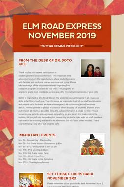 Elm Road Express      November 2019