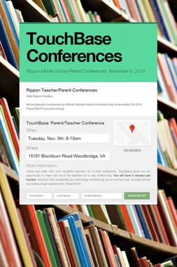 TouchBase Conferences