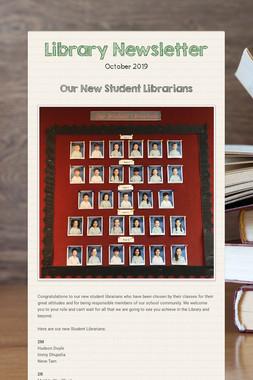 Library Newsletter