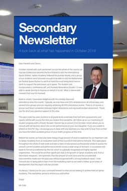 Secondary Newsletter