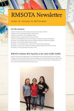 RMSOTA Newsletter