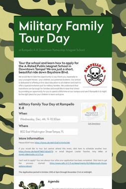 Military Family Tour Day