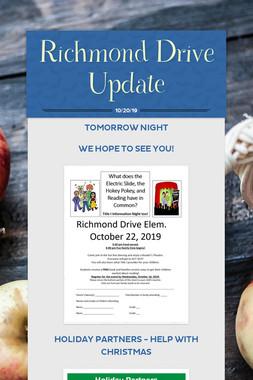 Richmond Drive Update