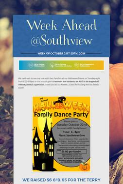 Week Ahead @Southview