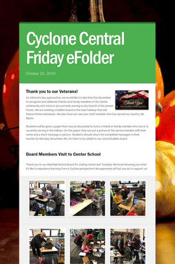 Cyclone Central Friday eFolder