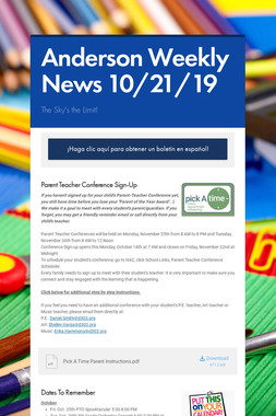 Anderson Weekly News 10/18/19
