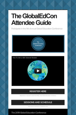The GlobalEdCon Attendee Guide