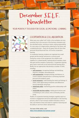 December S.E.L.F. Newsletter