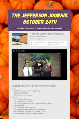 The Jefferson Journal October 24th