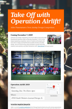 Take Off with Operation Airlift!