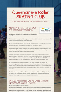 Queensmere Roller SKATING CLUB