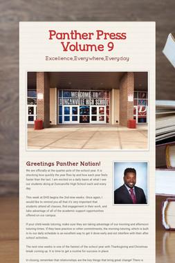 Panther Press Volume 9