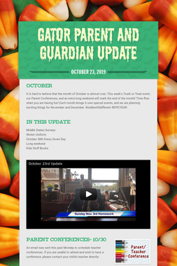 Gator Parent and Guardian Update