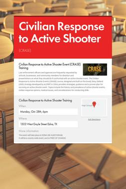 Civilian Response to Active Shooter