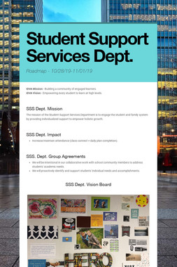 Student Support Services Dept.